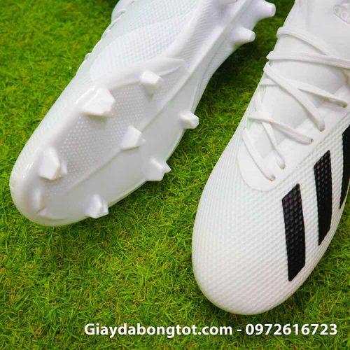 Giay da bong dinh cao sieu nhe Adidas X18.3 FG mau trang 178g (7)