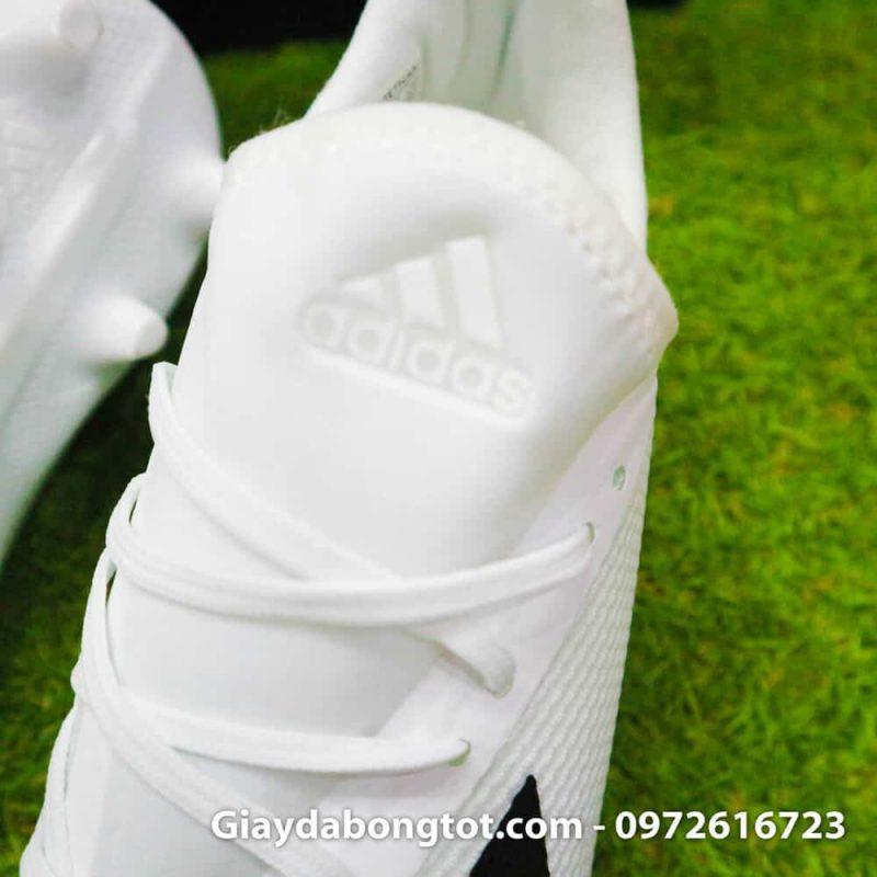 Giay da bong dinh cao sieu nhe Adidas X18.3 FG mau trang 178g (8)