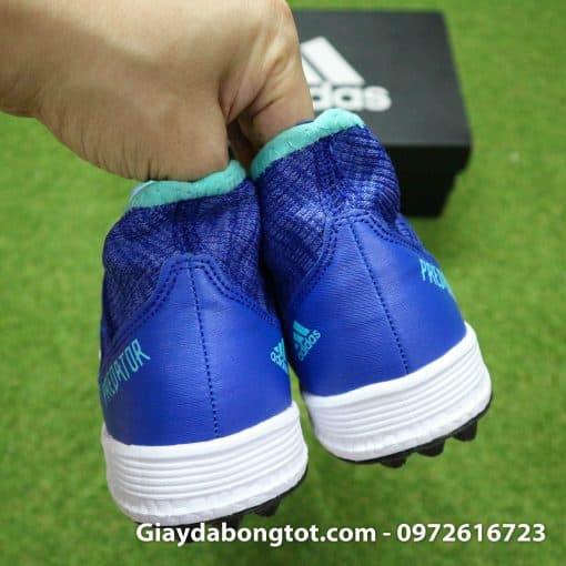 Giay da bong tien ve Adidas Predator 18.3 TF mau xanh duong vach trang (1)
