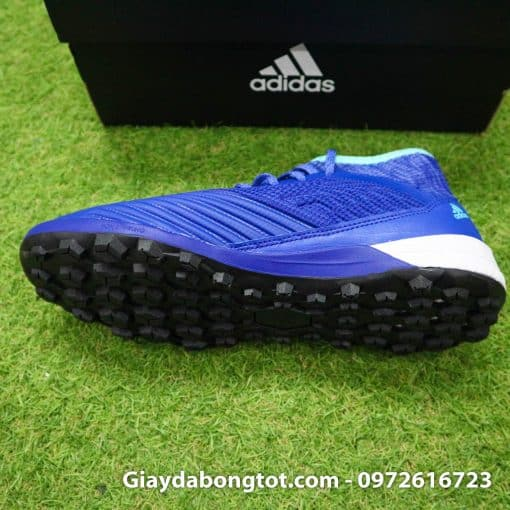 Giay da bong tien ve Adidas Predator 18.3 TF mau xanh duong vach trang (4)