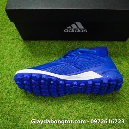 Giay da bong tre em Adidas co cao Predator 19.3 TF mau Xanh Duong (4)
