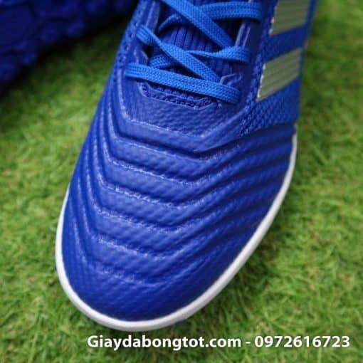 Giay da bong tre em Adidas co cao Predator 19.3 TF mau Xanh Duong (7)