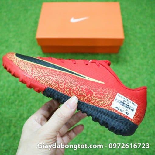Giay da bong tre em CR7 Nike Mercurial mau Do Vapor VII Pro TF (8)