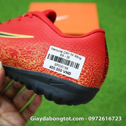 Giay da bong tre em CR7 Nike Mercurial mau Do Vapor VII Pro TF (9)
