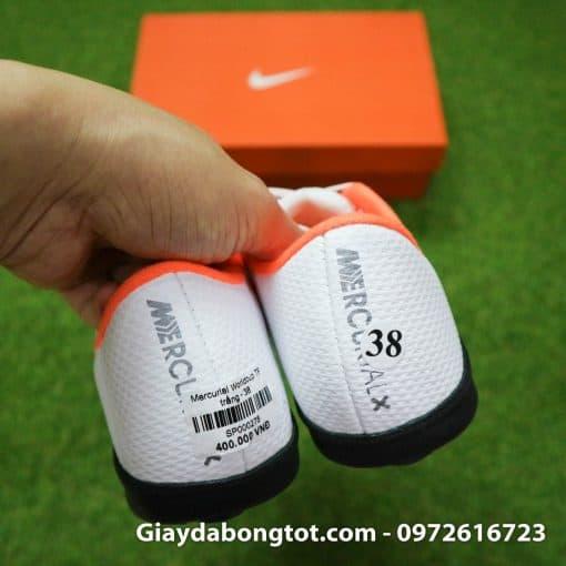 Giay da bong tre em Nike Mercurial mau trang Worldcup 2018 Vapor VII Pro TF (9)