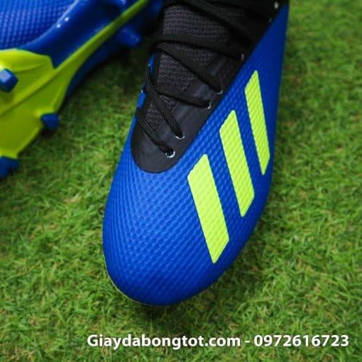 Giay da bong tre em sieu nha Adidas X18.3 FG mau xanh duong (5)
