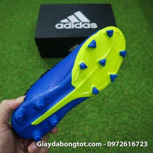 Giay da bong tre em sieu nha Adidas X18.3 FG mau xanh duong (8)