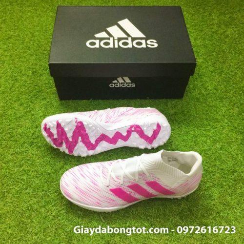 Giay-san-co-nhan-tao-Adidas-Nemeziz-TF-trang-hong-2018-7-600x600 (1)