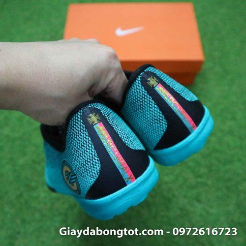 Giay san co nhan tao Nike Mercurial CR7 TF xanh Reu Bo Dao Nha (10)