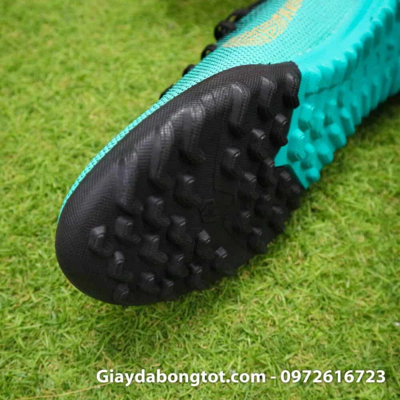 Giay san co nhan tao Nike Mercurial CR7 TF xanh Reu Bo Dao Nha (5)