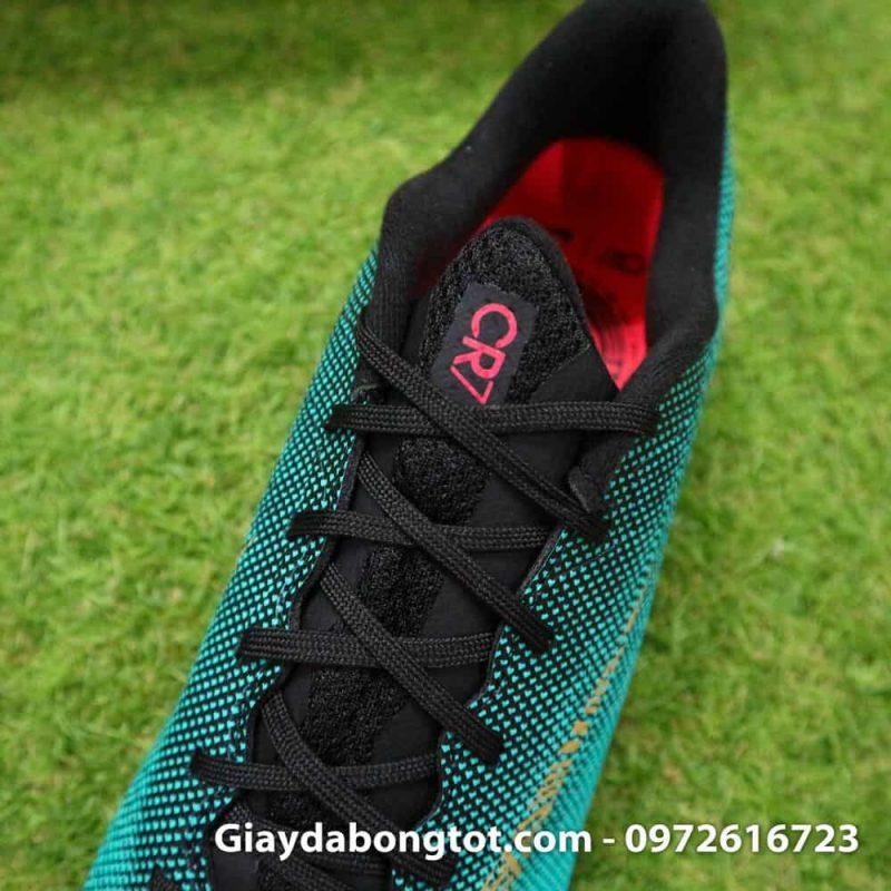 Giay san co nhan tao Nike Mercurial CR7 TF xanh Reu Bo Dao Nha (6)
