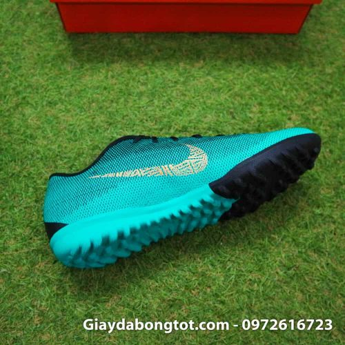 Giay san co nhan tao Nike Mercurial CR7 TF xanh Reu Bo Dao Nha (8)