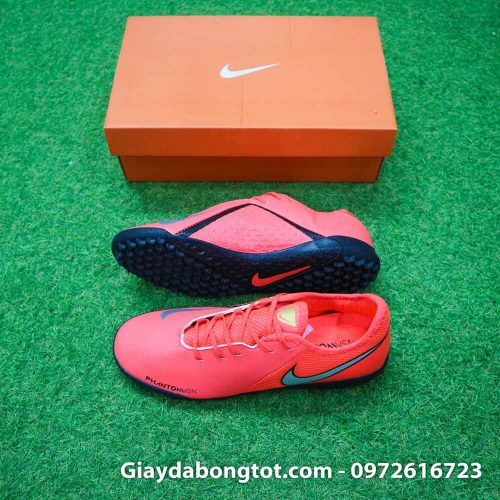 Giay bong da san co nhan tao Nike Phantom VSN TF mau do 2019 (2)