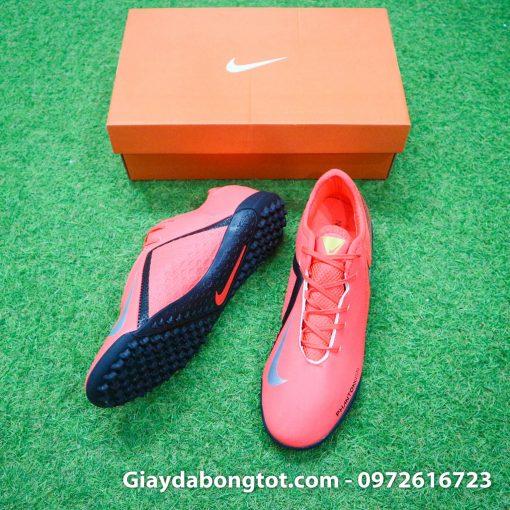 Giày đá bóng Nike Phantom VSN Academy TF có vân nổi hỗ trợ kiểm soát bóng ở má trong giày