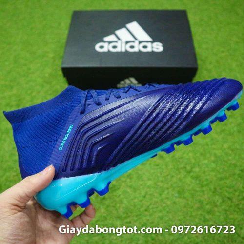 Giay da banh Adidas Predator 18.1 AG Xanh Duong van noi (1)