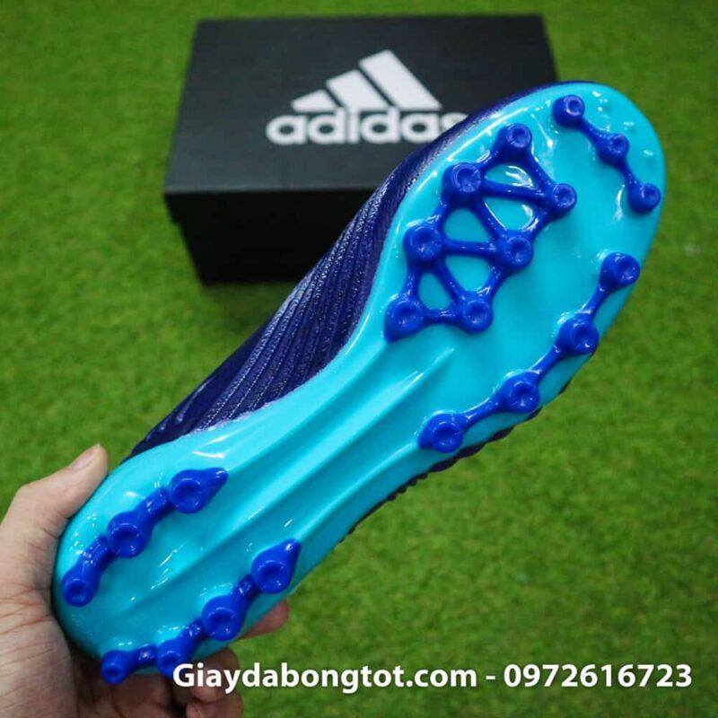Giay da banh Adidas Predator 18.1 AG Xanh Duong van noi (11)
