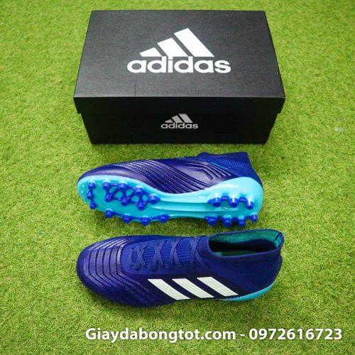 Giày đá bóng Adidas đinh AG hỗ trợ chơi bóng tốt trên các mặt sân cỏ nhân tạo đẹp
