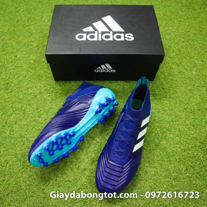 Giày đinh AG có độ cao vừa phải hỗ trợ bám sân tốt trên mặt sân có cỏ đẹp