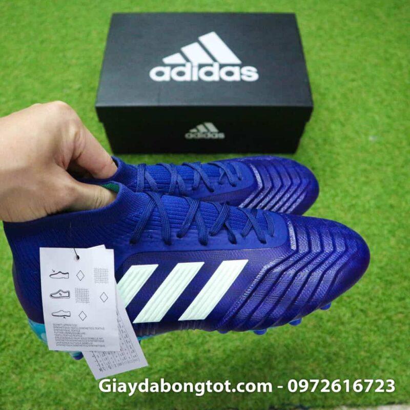 Giay da banh Adidas Predator 18.1 AG Xanh Duong van noi (6)