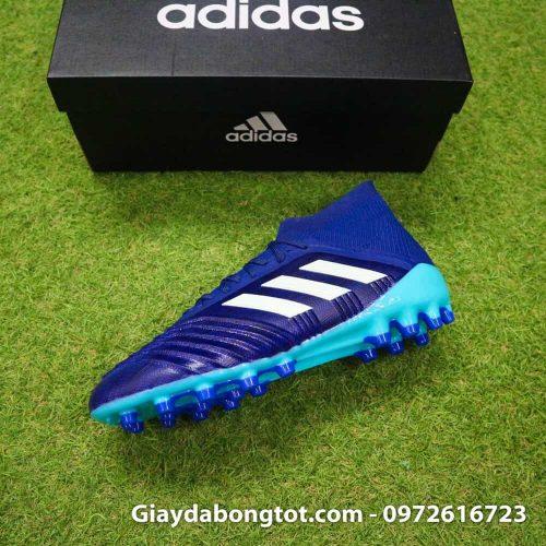Giay da banh Adidas Predator 18.1 AG Xanh Duong van noi (8)