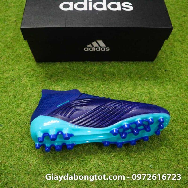 Giay da banh Adidas Predator 18.1 AG Xanh Duong van noi (9)