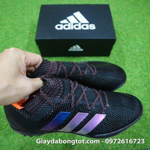 Giày đá bóng Adidas Nemeziz 18.3 TF có lớp da mềm mỏng mang lại sự thật chân, ôm chân