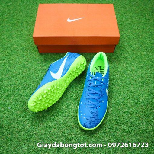 Giày đá bóng sân cỏ nhân tạo Nike Mercurial Neymar TF màu xanh dương tuyệt đẹp