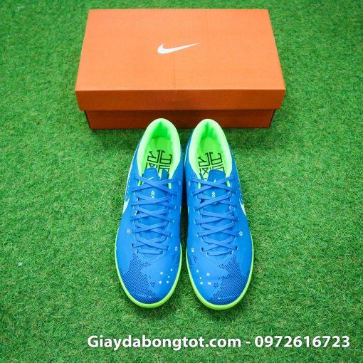 Giay da bong Nike Mercurial Neymar mau xanh duong dinh TF san co nhan tao (6)