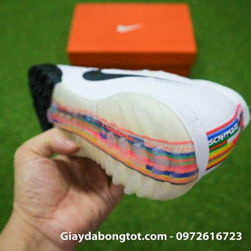 Giay da bong Nike Mercurial Superfly VI cao co CR7 Level Up mau trang 2019 (1)
