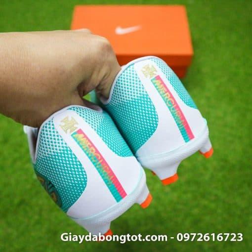 Giay da bong Nike Mercurial Vapor XII CR7 FG xanh trang chapter 6 (9)