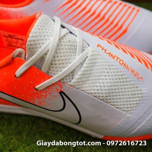 Giay da bong Nike Phantom VNM TF mau trang cam (1)