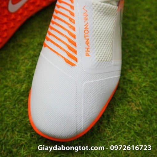 Giay da bong Nike Phantom VNM TF mau trang cam (4)