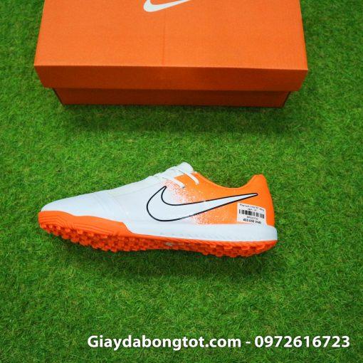 Giay da bong Nike Phantom VNM TF mau trang cam (5)