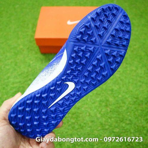Giay da bong Nike Phantom VNM TF xanh duong trang (10)