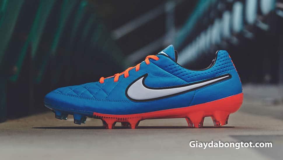 Phiên bản giày đá bóng Nike Tiempo Legend V được thiết kế gọn gàng đẹp mắt ra mắt vào Worldcup 2014