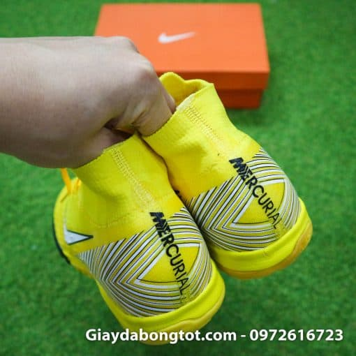 Giay da bong cao co Nike Mercurial Superfly TF Neymar vang (1)