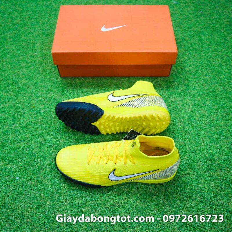 Giày đá banh cao cổ Nike Mercurial Superfly VI màu vàng Neymar sử dụng tại Worldcup 2018