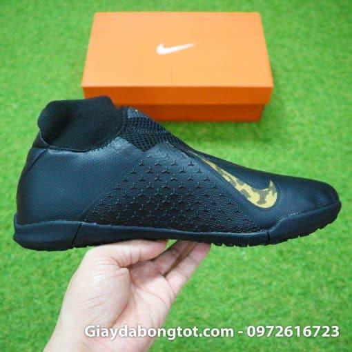 Giay da bong cao co Nike Phantom VSN TF mau den (10)