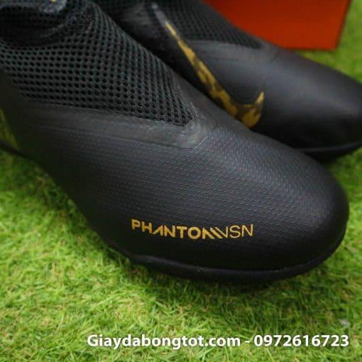 Giay da bong cao co Nike Phantom VSN TF mau den (11)