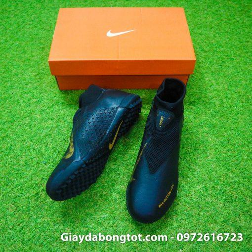 Giay da bong cao co Nike Phantom VSN TF mau den (3)