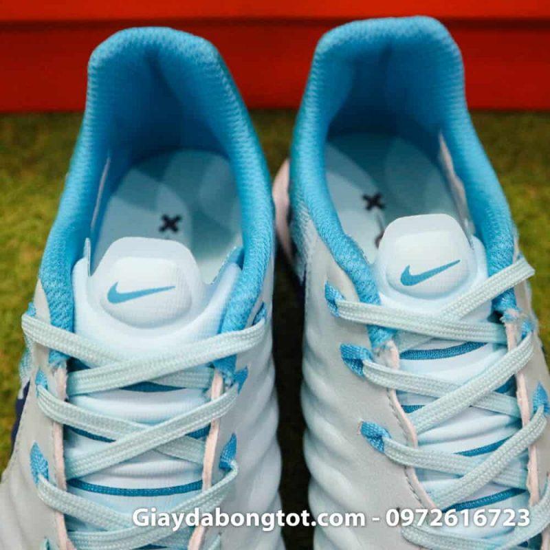 Giay da bong da mem Nike Tiempo X 7 Pro TF mau xanh nhat ghi (10)