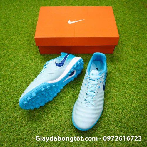 Giày sân cỏ nhân tạo Nike Tiempo X 7 Pro TF được thiết kế với da mềm và đế giày êm chân chắc chắn