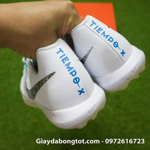 Giay da bong da mem Nike Tiempo X 7 Pro mau trang TF (6)