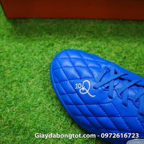Giay da bong da mem Nike TiempoX Lunar 7 Pro TF mau xanh duong Ronaldinho (11)