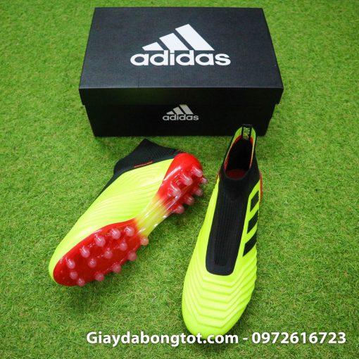 Giày đá bóng không dây Adidas Predator 18+ AG màu vàng Worldcup 2018 - Energy Mode Pack