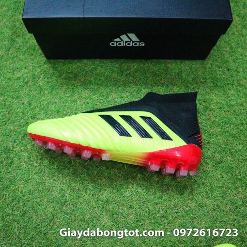 Giay da bong khong day Adidas Predator 18+ AG mau vang Worldcup 2018 (5)