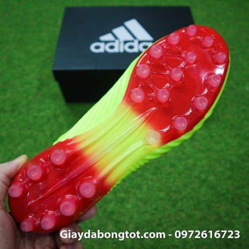 Giay da bong khong day Adidas Predator 18+ AG mau vang Worldcup 2018 (8)