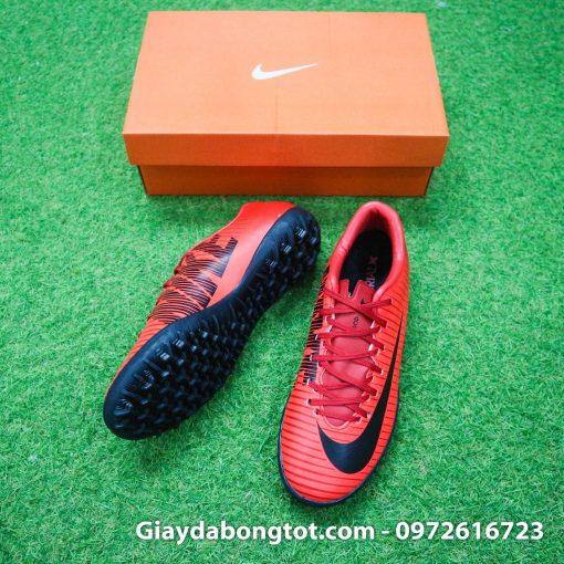 Giày đá banh trẻ em sân cỏ nhân tạo Nike Mercurial Vcitory 6 TF màu đỏ đẹp mắt