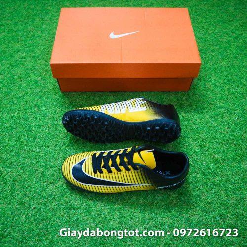 Giay da bong tre em Nike Mercurial 6 TF vàng đen (2)