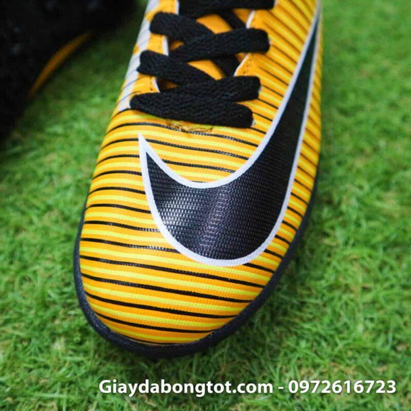 Giay da bong tre em Nike Mercurial 6 TF vàng đen (5)